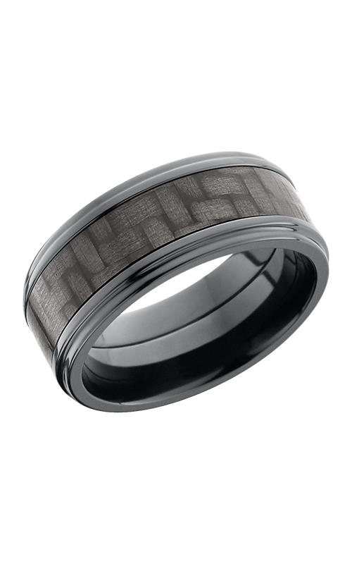 Lashbrook Carbon Fiber Wedding band ZC9FGE15 CF POLISH product image