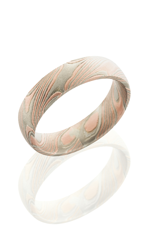Lashbrook Mokume Gane Wedding band M5D14R14PWSS product image