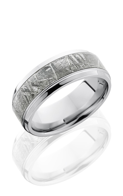 Lashbrook Meteorite Wedding band CC9B15 S METEORITE POLISH product image