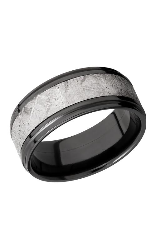 Lashbrook Meteorite Wedding band Z9FGE15 METEORITE POLISH product image