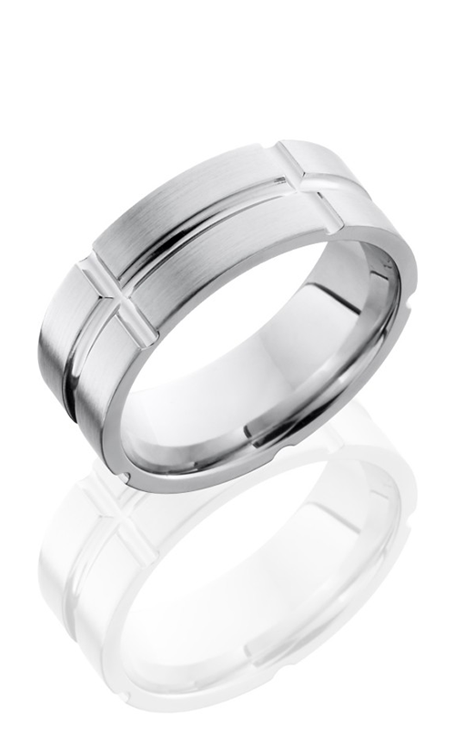 Lashbrook Cobalt Chrome Wedding band CC8F11V5SEG product image