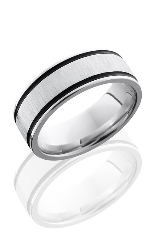 Lashbrook Cobalt Chrome Wedding band CC8FEC21WA CROSS SATIN-POLISH product image