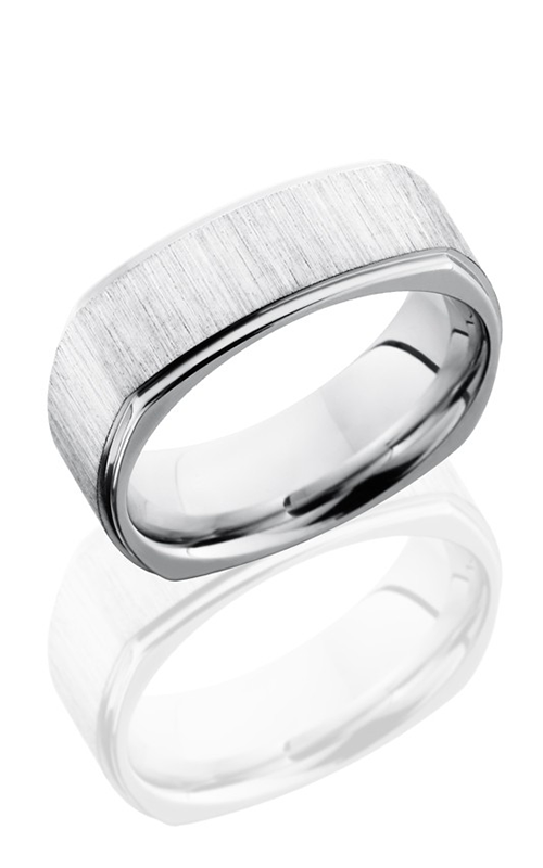Lashbrook Cobalt Chrome Wedding band CC8FGESQ CROSS SATIN-POLISH product image
