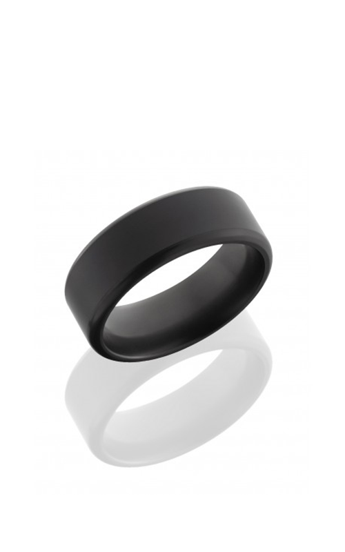 Lashbrook Elysium Wedding band E8FR SATIN POLISH product image