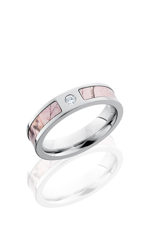 Lashbrook Camo Wedding band CCCAMO5F13SEG PINKRTAPDIA.05F product image