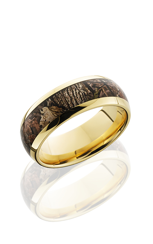 Lashbrook Camo Wedding band 14KY8D15 KINGSWOODLAND POLISH product image