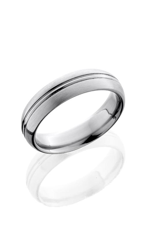 Lashbrook Titanium Wedding band 6HRCP SATIN product image
