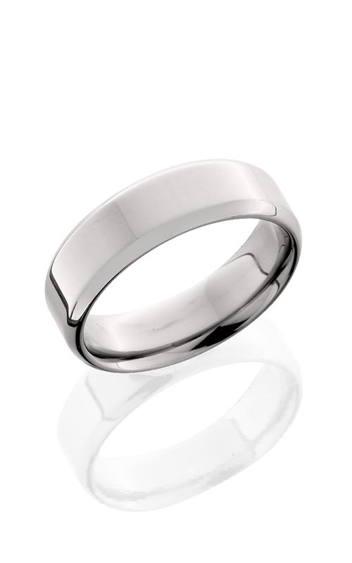 Lashbrook Titanium Wedding band 7B POLISH product image