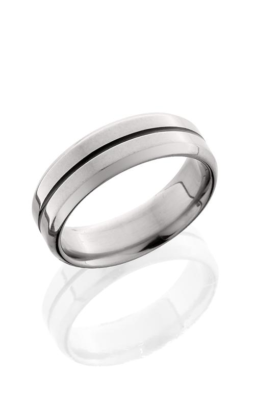 Lashbrook Titanium Wedding band 7B11A NS POLISH product image