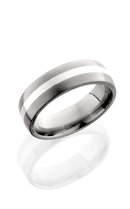 Lashbrook Titanium Wedding band 7D12 SS SATIN product image