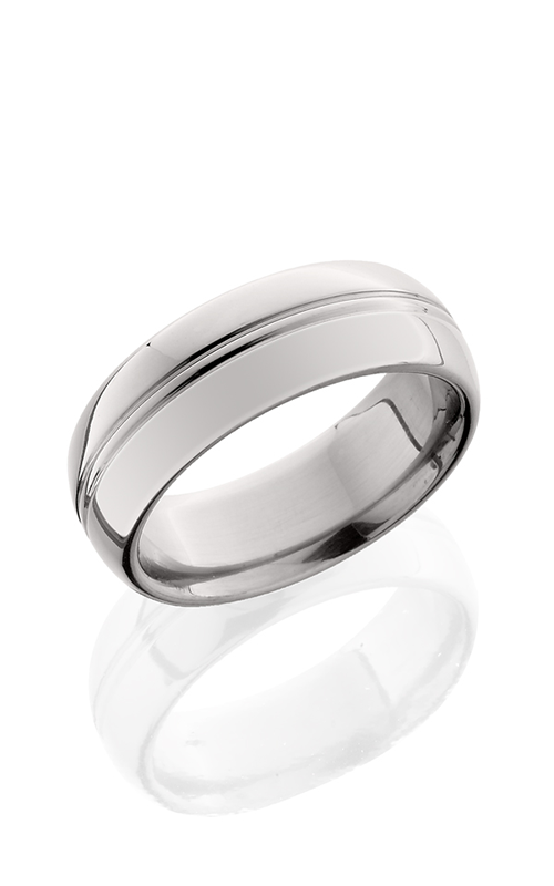 Lashbrook Titanium Wedding band 8HRCP POLISH product image