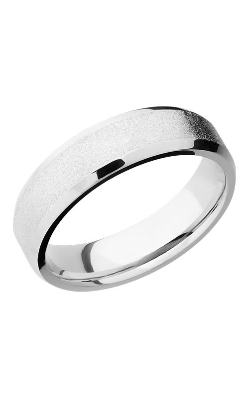 Lashbrook Cobalt Chrome Wedding band CC6B STONE-POLISH product image