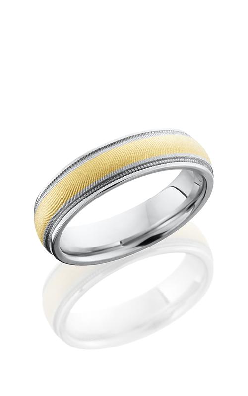 Lashbrook Cobalt Chrome Wedding band CC6DGE2UMIL13-14KY product image