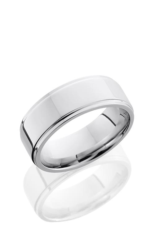Lashbrook Cobalt Chrome Wedding band CC8FGE POLISH product image