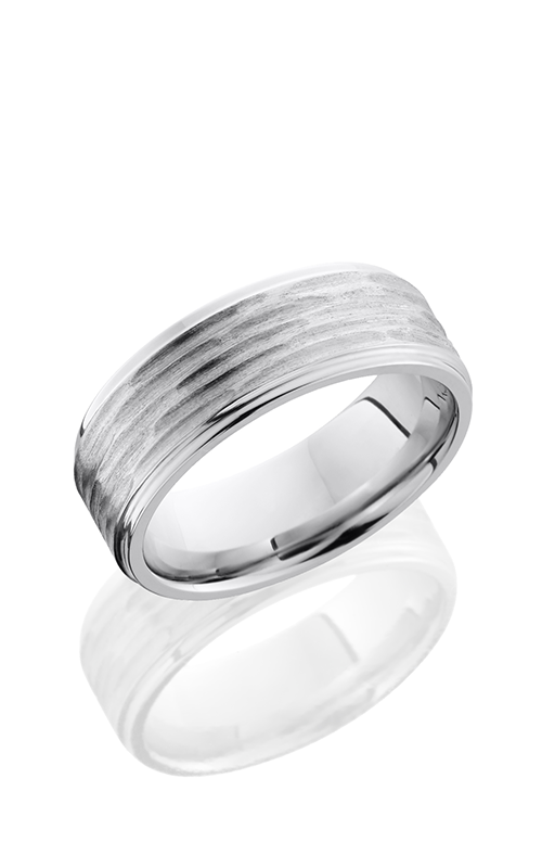 Lashbrook Cobalt Chrome Wedding band CC8FGE DISC 3-POLISH product image