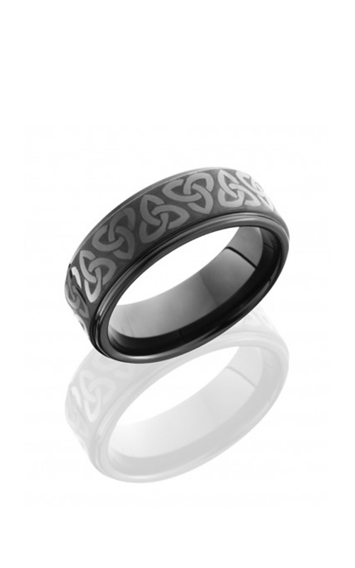 Lashbrook Tungsten Ceramic Wedding band C08RC015LASERTRICELTIC product image
