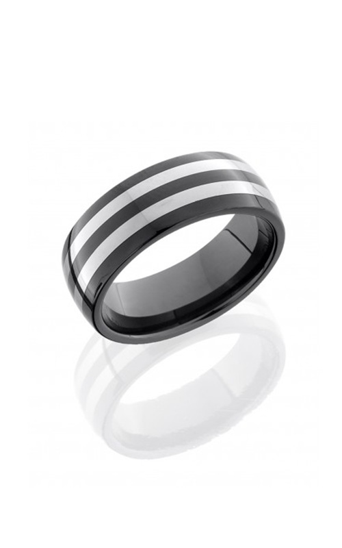 Lashbrook Tungsten Ceramic Wedding band CT08HR055 product image