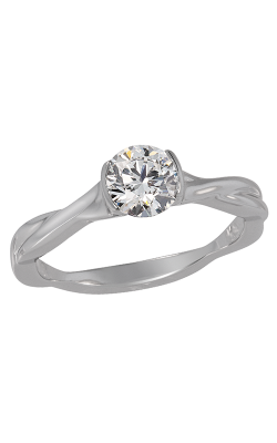 Lazare Simply Twist Engagement Ring R410 product image