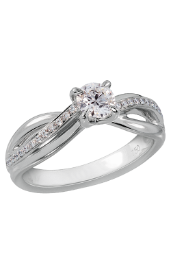 Lazare Simply Twist Engagement Ring R206 product image