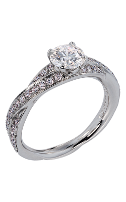 Lazare Simply Twist Engagement Ring R95 product image