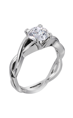 Lazare Simply Twist Engagement Ring M24 product image