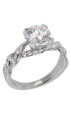 Lazare Simply Twist Engagement Ring R326 product image