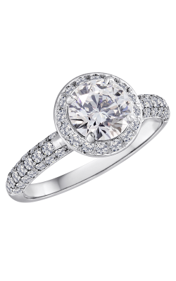 Lazare Ideal Surroundings Engagement Ring R624 product image