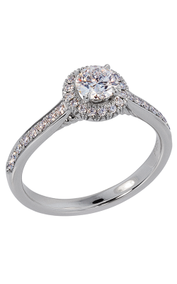 Lazare Ideal Surroundings Engagement Ring R133 product image