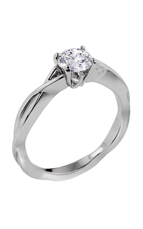 Lazare Simply Twist Engagement ring R147 product image