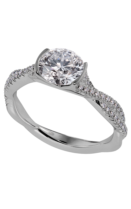 Lazare Simply Twist Engagement ring R88 product image