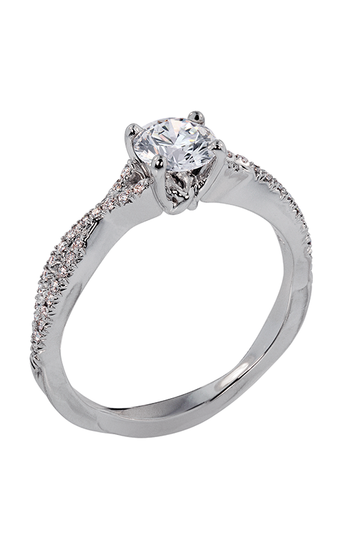 Lazare Simply Twist Engagement ring B156 product image