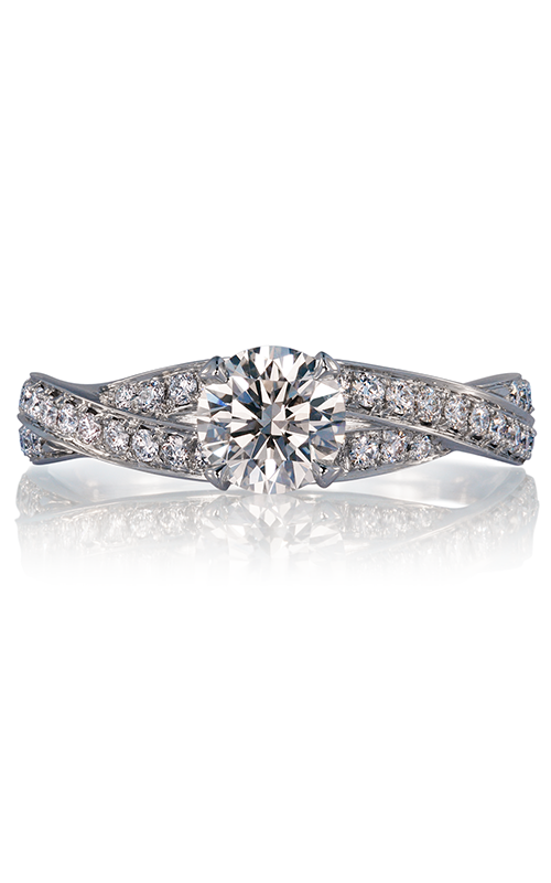Lazare Simply Twist Engagement ring R2037 product image