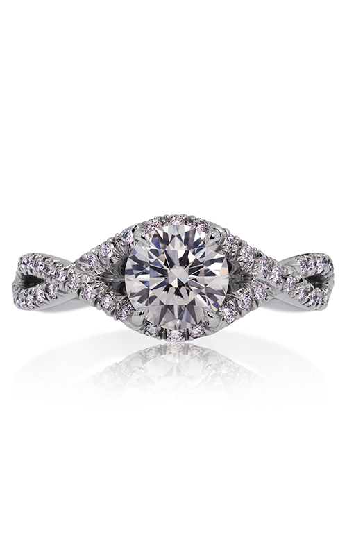 Lazare Simply Twist Engagement ring M05 product image