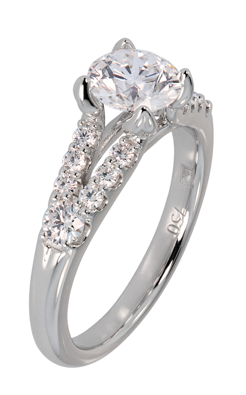 Lazare Simply Classic Engagement ring R906 product image