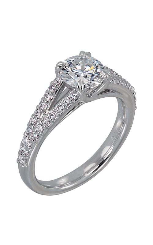 Lazare Trellis Engagement ring R856 product image
