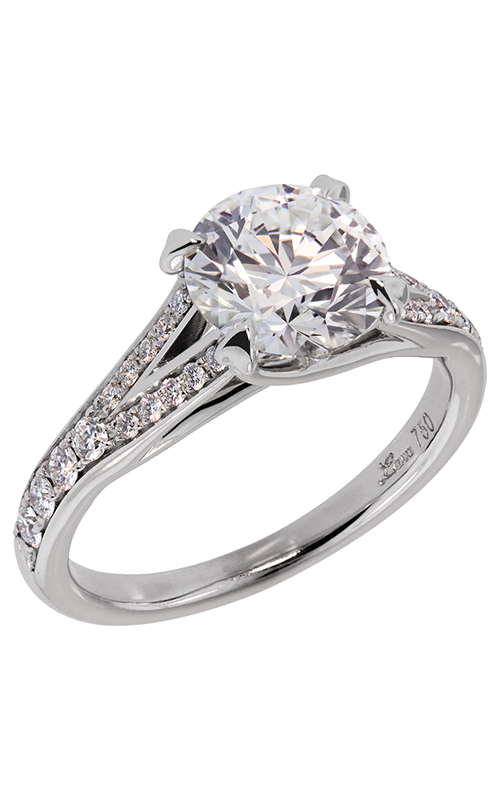 Lazare Trellis Engagement ring R790 product image