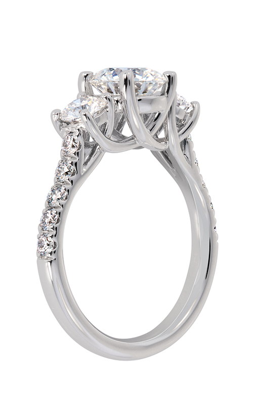 Lazare Trellis Engagement ring R352 product image