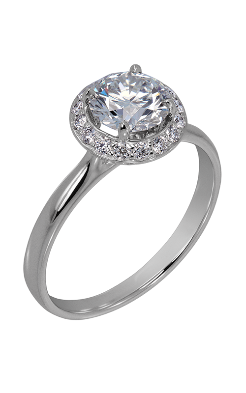 Lazare Ideal Surroundings Engagement ring R628 product image