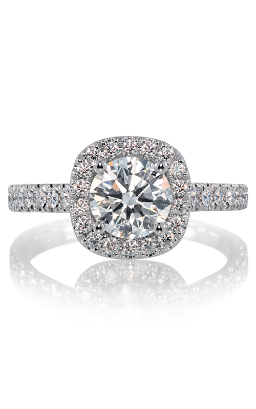Lazare Ideal Surroundings Engagement ring R258 product image