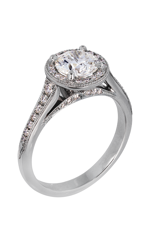 Lazare Ideal Surroundings Engagement ring M04 product image