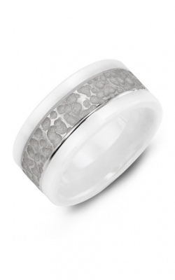 Madani Alternative Metal Gold Prestige Wedding Band MWB914IW product image