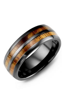 Madani Alternative Metal Wedding Band MHD800CD product image