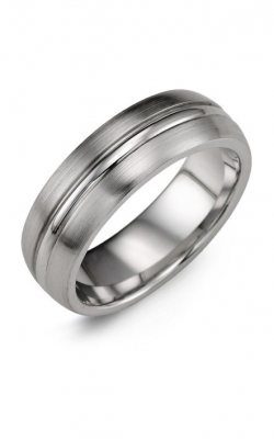Madani Alternative Metal Wedding Band MHM700BB product image