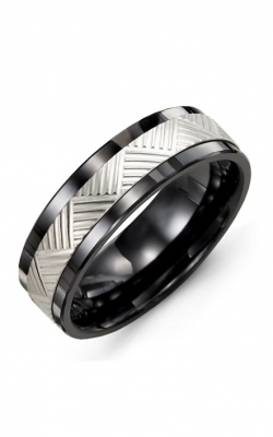 Madani Alternative Metal And Gold Wedding band MAX714CW product image