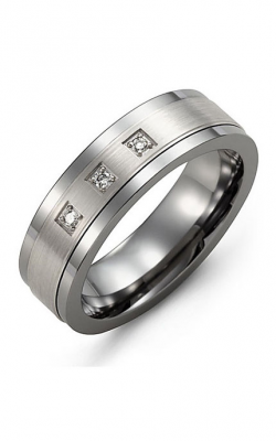 Madani Alternative Metal Gold And Diamond  Wedding Band MDA714TW-6R product image