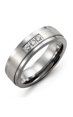 Madani Alternative Metal Gold And Diamond  Wedding Band MDG714TW-6R product image