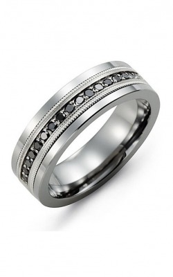 Madani Alternative Metal Gold And Diamond  Wedding Band MDH714TW-34B product image
