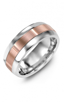 Madani Alternative Metal Half-Round Gold Wedding Band MFN814LP product image