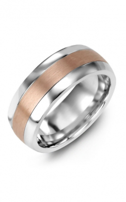 Madani Alternative Metal Half-Round Gold Wedding Band MFO814LP product image