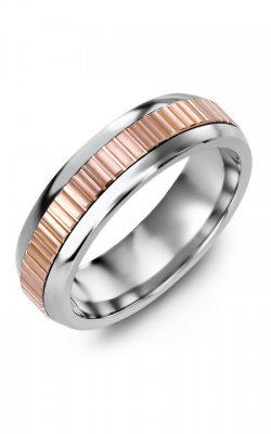 Madani Alternative Metal Half-Round Gold Wedding Band MFR614LP product image